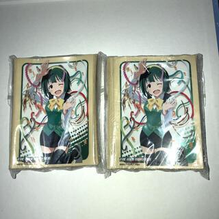 バンダイ(BANDAI)のコミックマーケット83限定スリーブ アイドルマスター 音無小鳥 アイマス 2つ(カードサプライ/アクセサリ)