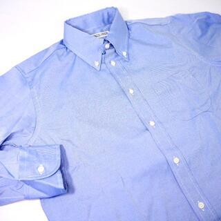 インディヴィジュアライズドシャツ(INDIVIDUALIZED SHIRTS)の★♂【新品】インディビジュアライズドシャツ BDシャツ 15 32 青(シャツ)