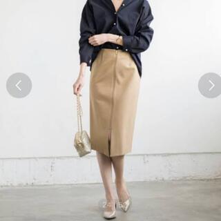 ラウンジドレス(Loungedress)のラウンジドレス2wayタイトスカートベージュ(ひざ丈スカート)