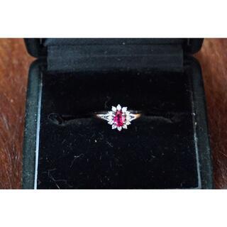 ジュエリーマキ(ジュエリーマキ)のPt850 ルビー・ダイヤモンドのリング ジュエリーマキ 10.5号(リング(指輪))