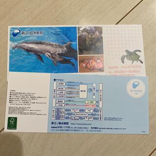 新江ノ島水族館 チケット ご招待券 2枚(水族館)