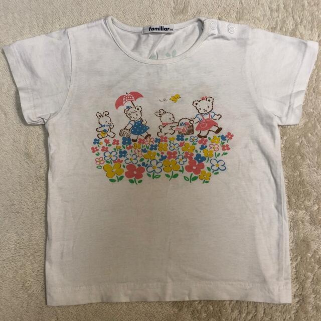 familiar(ファミリア)のfamiliar100 Tシャツ キッズ/ベビー/マタニティのキッズ服女の子用(90cm~)(Tシャツ/カットソー)の商品写真