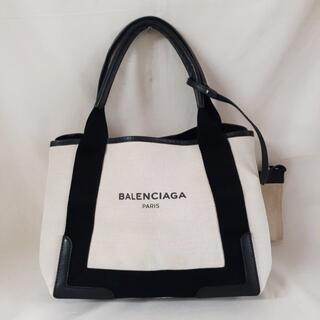 Balenciaga - BALENCIAGA(バレンシアガ)ハンドバッグ ネイビー カバスS ブラック