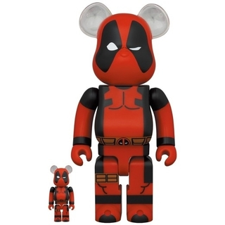 MEDICOM TOY - BE@RBRICK DEADPOOL 100% & 400%