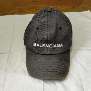 バレンシアガ(Balenciaga)のバレンシアガ ベースボールキャップ ブラック(キャップ)