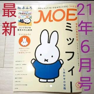 雑誌「MOE (モエ)2021年6月号」(アート/エンタメ/ホビー)