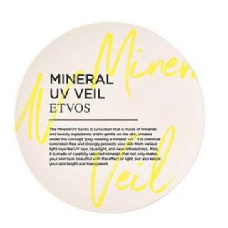 エトヴォス(ETVOS)の新品未使用 エトヴォス ミネラルUVベール(フェイスパウダー)