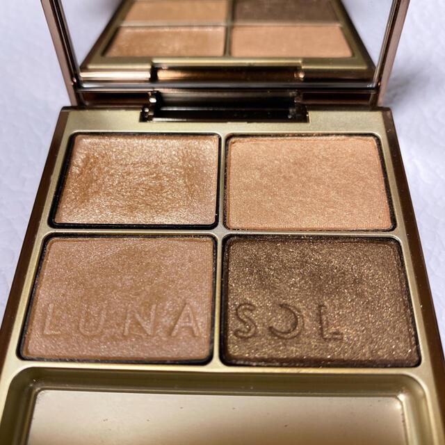 LUNASOL(ルナソル)のLUNASOL ルナソル スキンモデリングアイズ 01 アイシャドウ コスメ/美容のベースメイク/化粧品(アイシャドウ)の商品写真