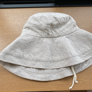 ネストローブ(nest Robe)のリーノエリーナ 帽子 ベージュ (ハット)