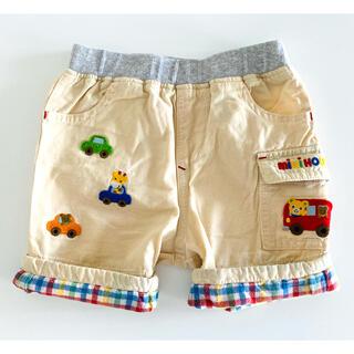 mikihouse - 【ミキハウス 】2wayショートパンツ 半ズボン 80cm