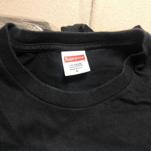 Supreme(シュプリーム)のsupreme tee M L tシャツ  4着セット メンズのトップス(Tシャツ/カットソー(半袖/袖なし))の商品写真