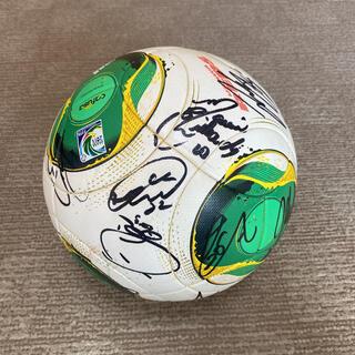 アディダス(adidas)の浦和レッズ選手全員サイン入り ジャブラニ ボール(記念品/関連グッズ)