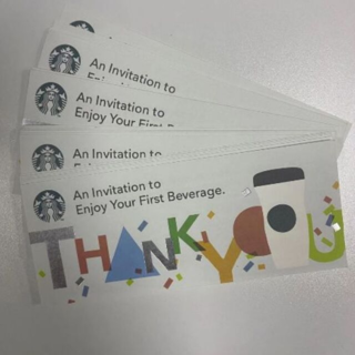 Starbucks Coffee - 41枚 スターバックスコーヒー ドリンクチケット スタバ
