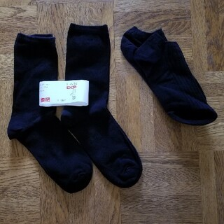 UNIQLO - UNIQLO レディース 靴下 3点セット