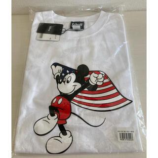 ショット(schott)の新品 ショット Tシャツ ミッキー ディズニーコラボ  コラボTシャツ タグ付き(Tシャツ/カットソー(半袖/袖なし))