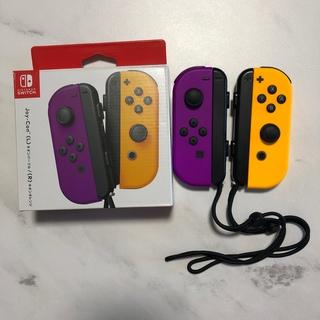 Nintendo Switch - ジョイコン ネオンパープル ネオンオレンジ