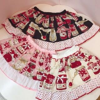 Shirley Temple - ジャム瓶 黒色 スカート パンツ シャーリーテンプル