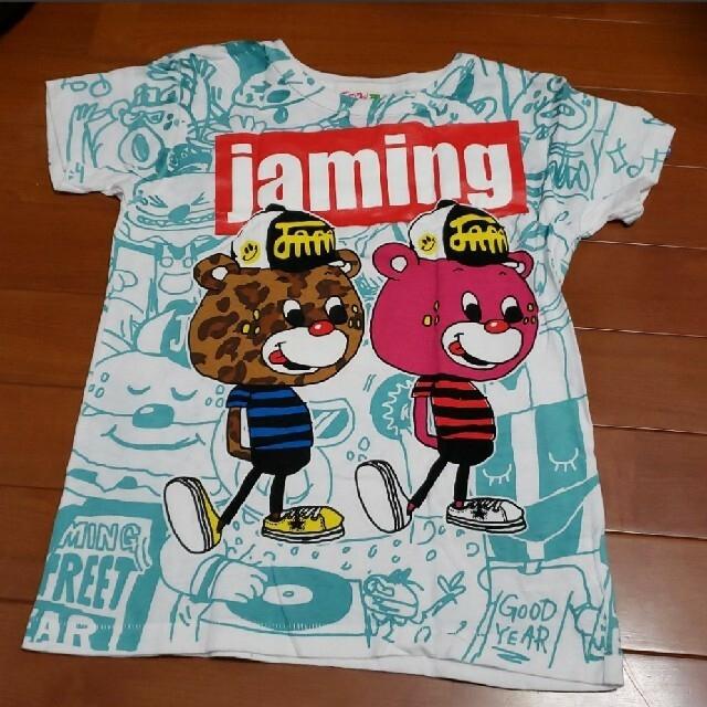 JAM(ジャム)のJAM☆130㎝.120㎝ Tシャツ2枚 キッズ/ベビー/マタニティのキッズ服男の子用(90cm~)(Tシャツ/カットソー)の商品写真