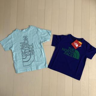 THE NORTH FACE - セール!新品タグ付と中古 ノースフェイス ハーフドームロゴTシャツ 2点セット
