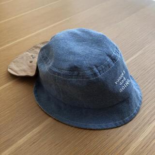 アカチャンホンポ - 日除け付きベビー帽子44〜46㎝