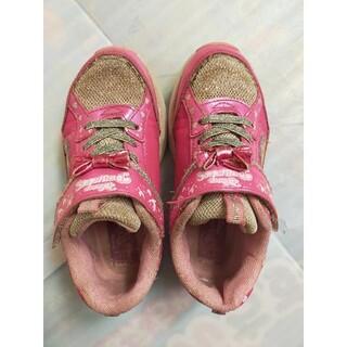 ディズニー(Disney)のプリンセス光る靴 19センチ(スニーカー)