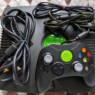 エックスボックス(Xbox)の初代 XBOX EVOX導入済 HDD換装(家庭用ゲーム機本体)