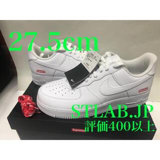 シュプリーム(Supreme)の白 27.5cm Supreme Nike Air Force 1 Low(スニーカー)