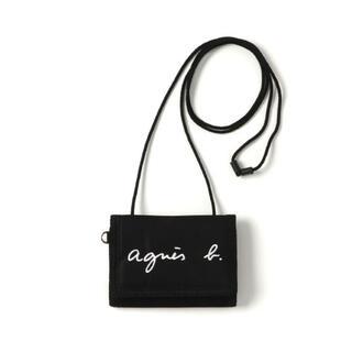 agnes b. - agnes.b ロゴ刺繍 パスケース/財布  新品