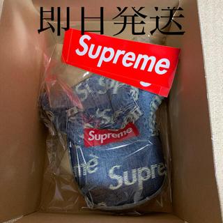 シュプリーム(Supreme)のSupreme Frayed Logos Denim Camp Cap(キャップ)