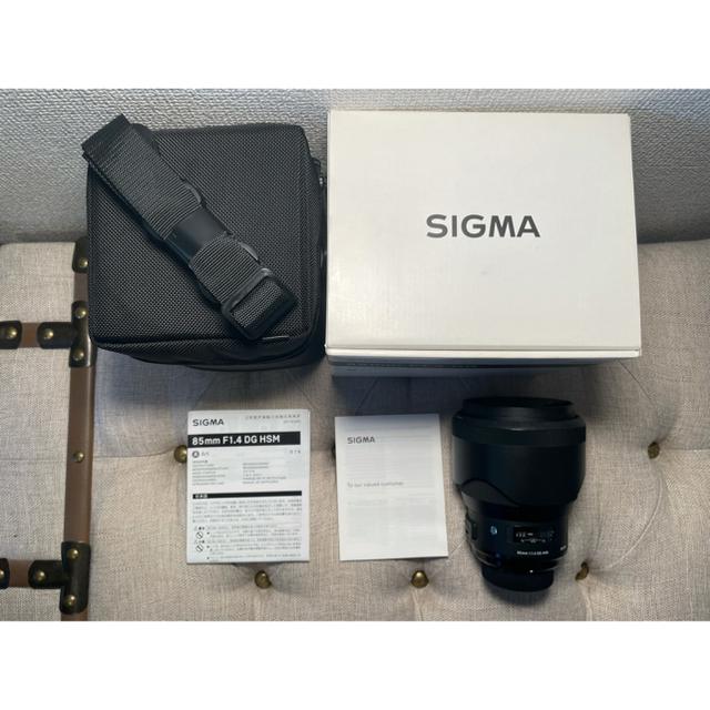 SIGMA(シグマ)の【美品】sigma art 85mm f1.4 Nikon用 Fマウント スマホ/家電/カメラのカメラ(レンズ(単焦点))の商品写真