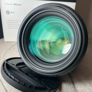 SIGMA - 【中古】sigma art 85mm f1.4 Nikon用