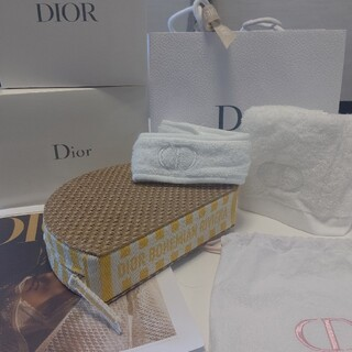 Dior - Dior ♡オリジナルポーチ🏖️タオルヘアターバンset
