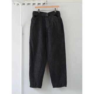 COMOLI - COMOLI 21ss ベルテッドデニム パンツ size1  新品未使用
