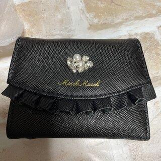MISCH MASCH - ミッシュマッシュ♡未使用プチフリル折り畳み財布
