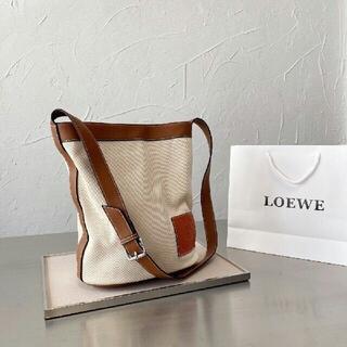 LOEWE - 本物の写真Loeweバケツ包みA-717