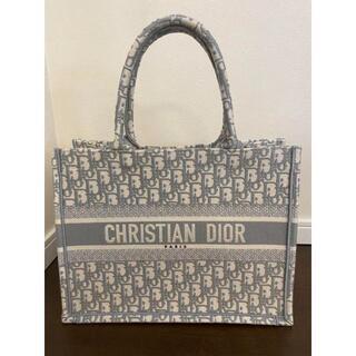Christian Dior - ディオール ブックトート スモール グレー