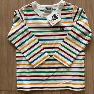 DOUBLE.B - 新品 ダブルビー  ボーダーロングTシャツ