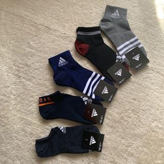 adidas - アディダス 靴下 ソックス 23〜25㎝