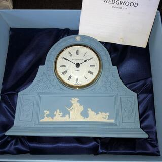 ウェッジウッド(WEDGWOOD)のウェッジウッド ✴︎ジャスパー 置き時計(置時計)