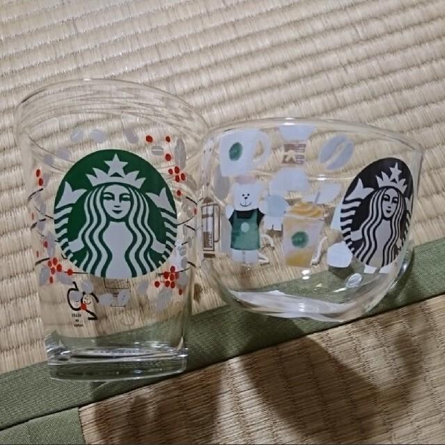 Starbucks Coffee(スターバックスコーヒー)の新品 2個セット スターバックス 25周年 マグカップ&グラス インテリア/住まい/日用品のキッチン/食器(グラス/カップ)の商品写真