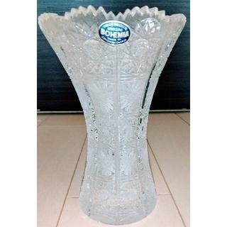 BOHEMIA Cristal - ☆ 送料込み BOHEMIA クリスタルガラス 花瓶 ☆