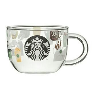 Starbucks Coffee - 25周年 耐熱グラスマグスターバックスルーツ べアリスタ スターバックス スタバ