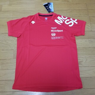 デサント(DESCENTE)のJ 新品 デサント ムーヴスポーツ MOVESPORT 機能素材 カットソー(Tシャツ/カットソー(半袖/袖なし))