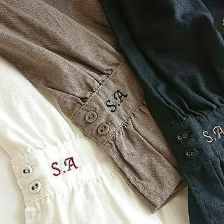サマンサモスモス(SM2)のサマンサモスモス 35周年 SA刺繍パンツ(カジュアルパンツ)