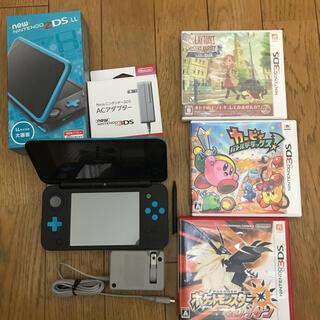 任天堂 - Nintendo ゲーム機本体 NEW ニンテンドー 2DS LL ブラック/タ