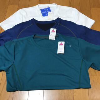 イオン(AEON)の値下げ‼️AEON☆速乾素材の半袖Tシャツ3枚//メンズS(Tシャツ/カットソー(半袖/袖なし))