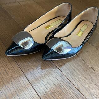 トゥモローランド(TOMORROWLAND)のイタリアパンプス(ローファー/革靴)