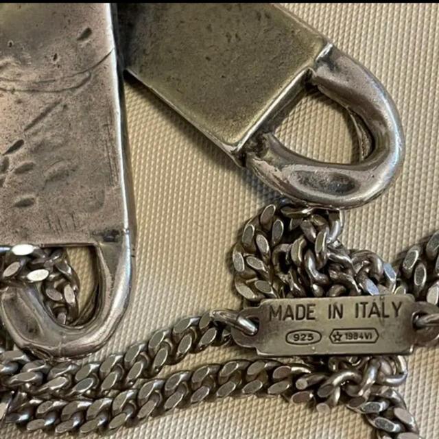 Maison Martin Margiela(マルタンマルジェラ)のkioさん専用 martin margiela マルタン マルジェラ   メンズのアクセサリー(ネックレス)の商品写真
