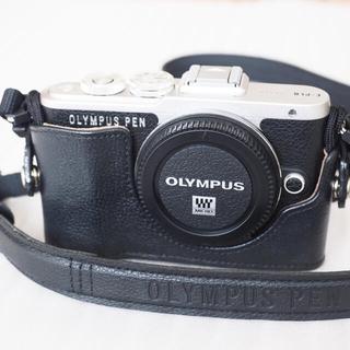 OLYMPUS - 送料無料 極美品 オリンパス ペン E-PL8 ボディー ブラック おまけ 4点