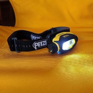 PETZL - PETZL PIXA3 ヘッドランプ プロフェッショナルモデル キャンプ